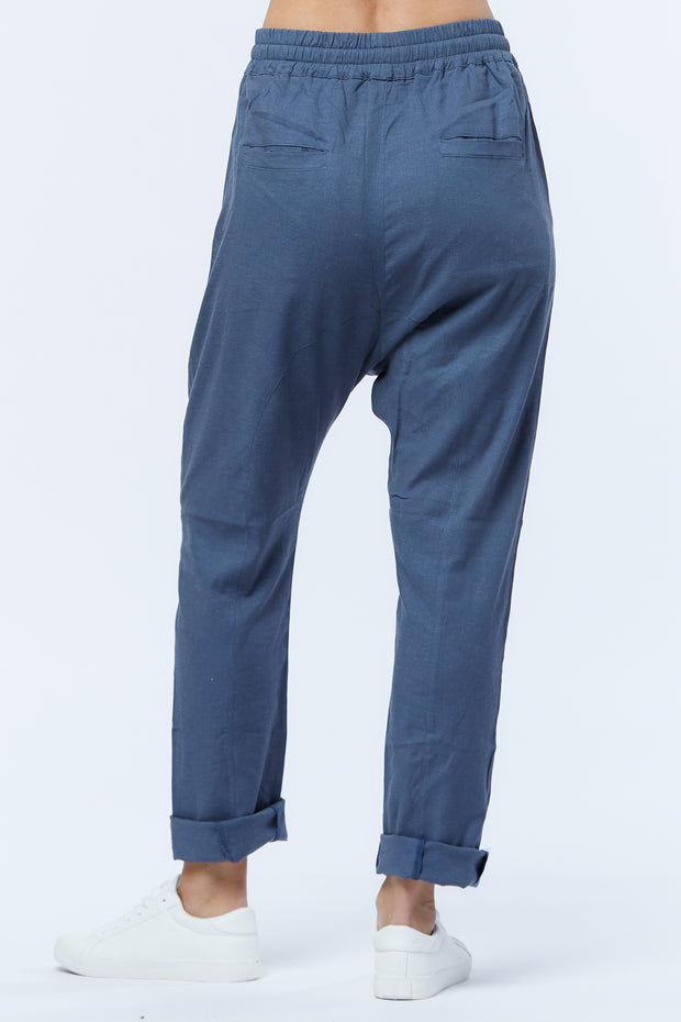 DROPCROTCH PANT - BLUE