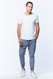 MEN'S DROPCROTCH PANTS - GREY