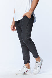 MEN'S DROPCROTCH PANTS - BLACK