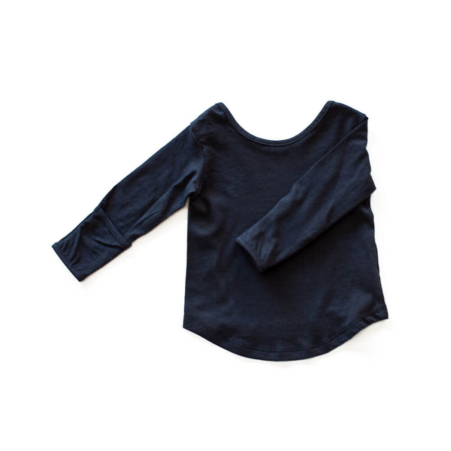 CASA KIDS LONG SLEEVE TEE - MIDNIGHT
