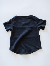 CASA KIDS COLOUR BLOCK TEE - WHITE / MIDNIGHT