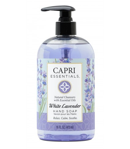 White Lavender Hand Soap