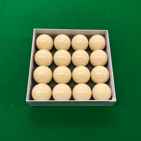 Multipack White Cue Balls for Commercial or Home Use - SherlockAmusementSales