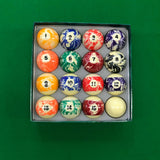 Multipack Marble Pool Balls for Commercial or Home Use - SherlockAmusementSales