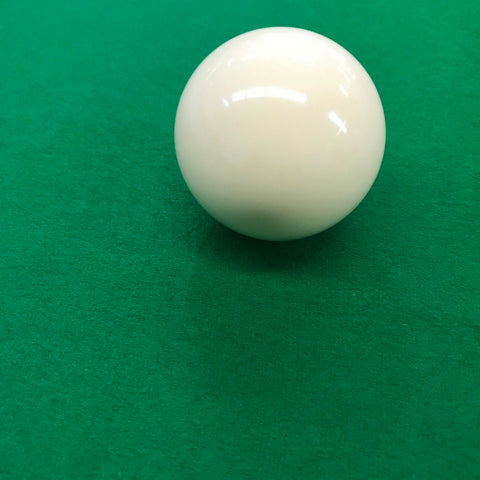 White Cue Ball for Commercial or Home Use - SherlockAmusementSales