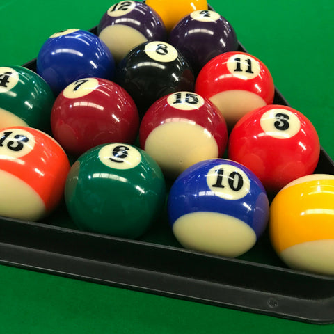 Spots & Stripes Pool Balls for Commercial or Home Use - SherlockAmusementSales