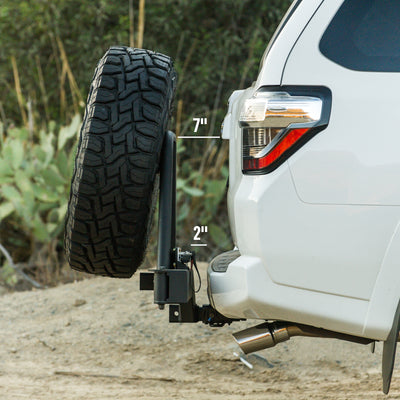 RIGd UltraSwing™ Hitch Carrier 4th/5th Gen 4Runner