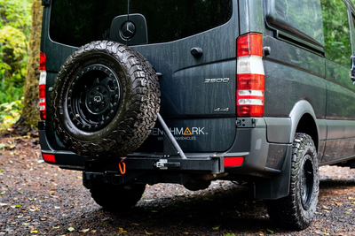 RIGd UltraSwing™ Hitch Carrier Mega-Fit
