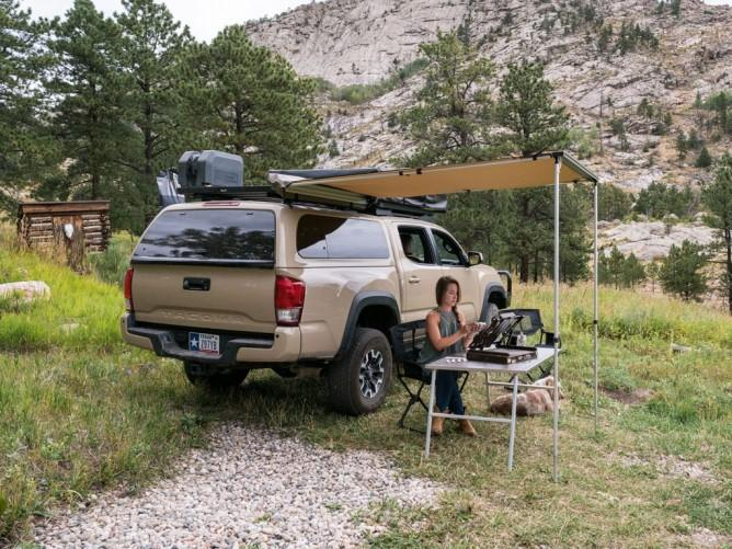 Toyota Tacoma Canopy >> Front Runner Slimline Ii Rack For Canopy Caps 2005 2018 Tacoma Short Bed