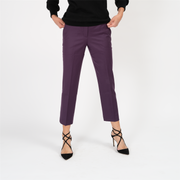 Cropped Trouser in Wool