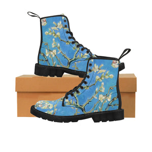 Almond blossoms Canvas Boots