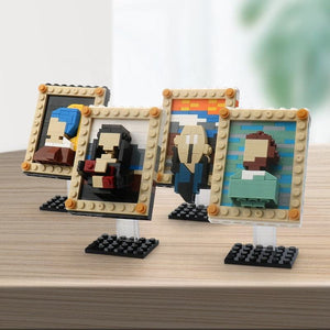 Famous paintings lego