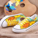 Sunflowers Hand painted shoes
