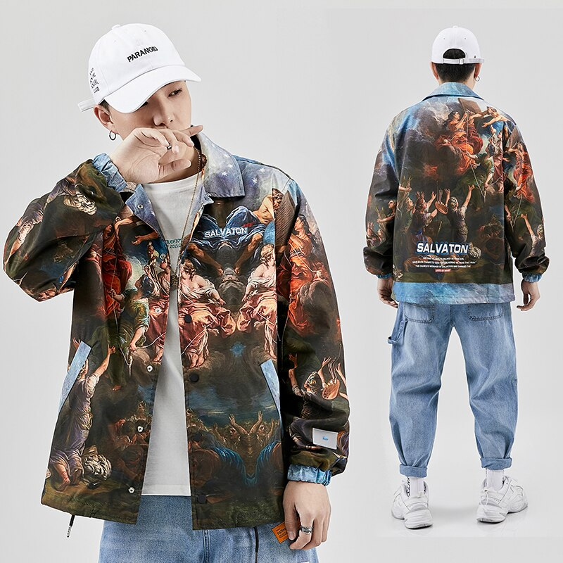Salvation Oil Painting Jacket