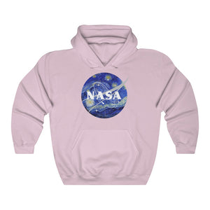 Nasa Starry Night Hooded Sweatshirt