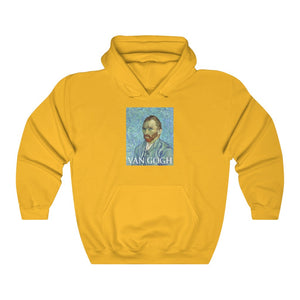 Van Gogh Portrait Hooded Sweatshirt