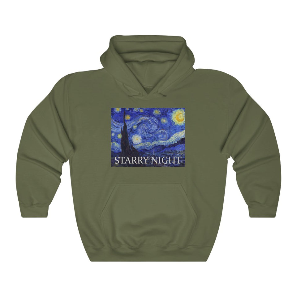Starry night Hooded Sweatshirt