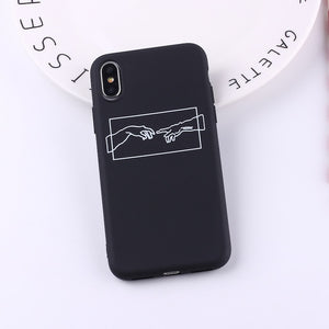 Creation of adam minimalist iPhone case
