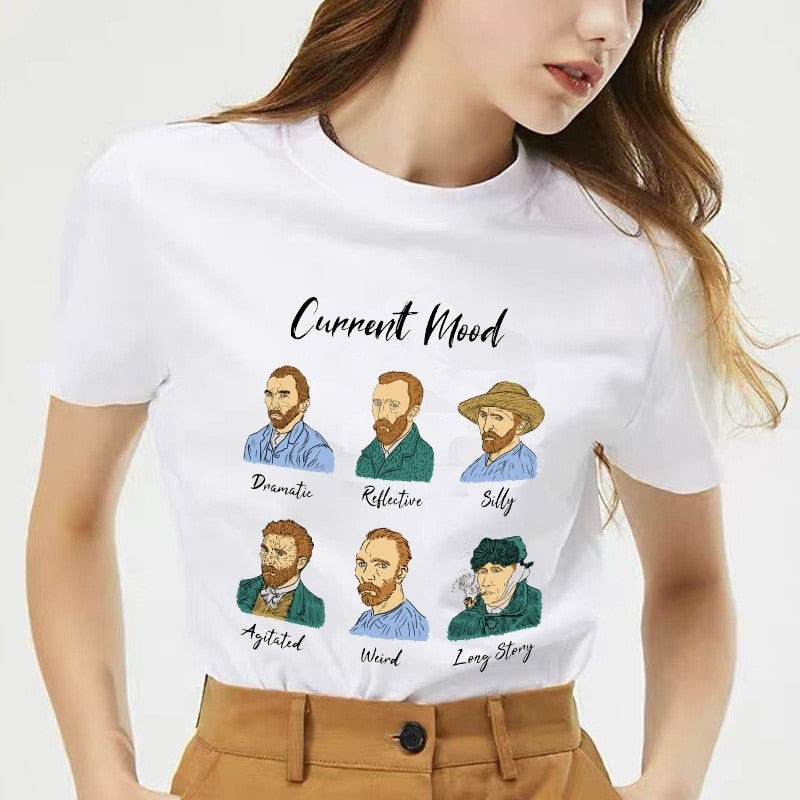Van gogh Current Mood T-shirt