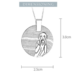 The Scream Pendant
