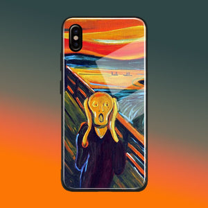 The Scream Edvard Munch iPhone Case