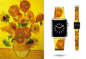 Van Gogh apple IWatch bands