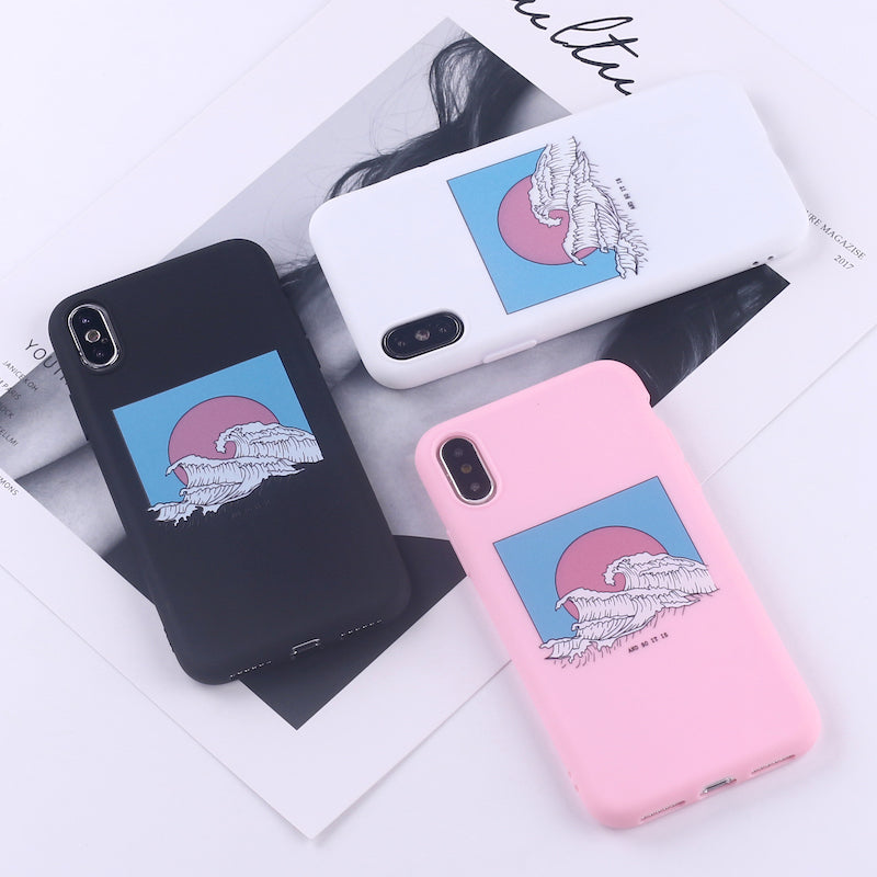 Hokusai and so it is iphone cases