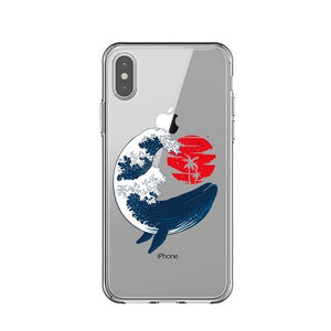 Hokusai Wave iPhone cases