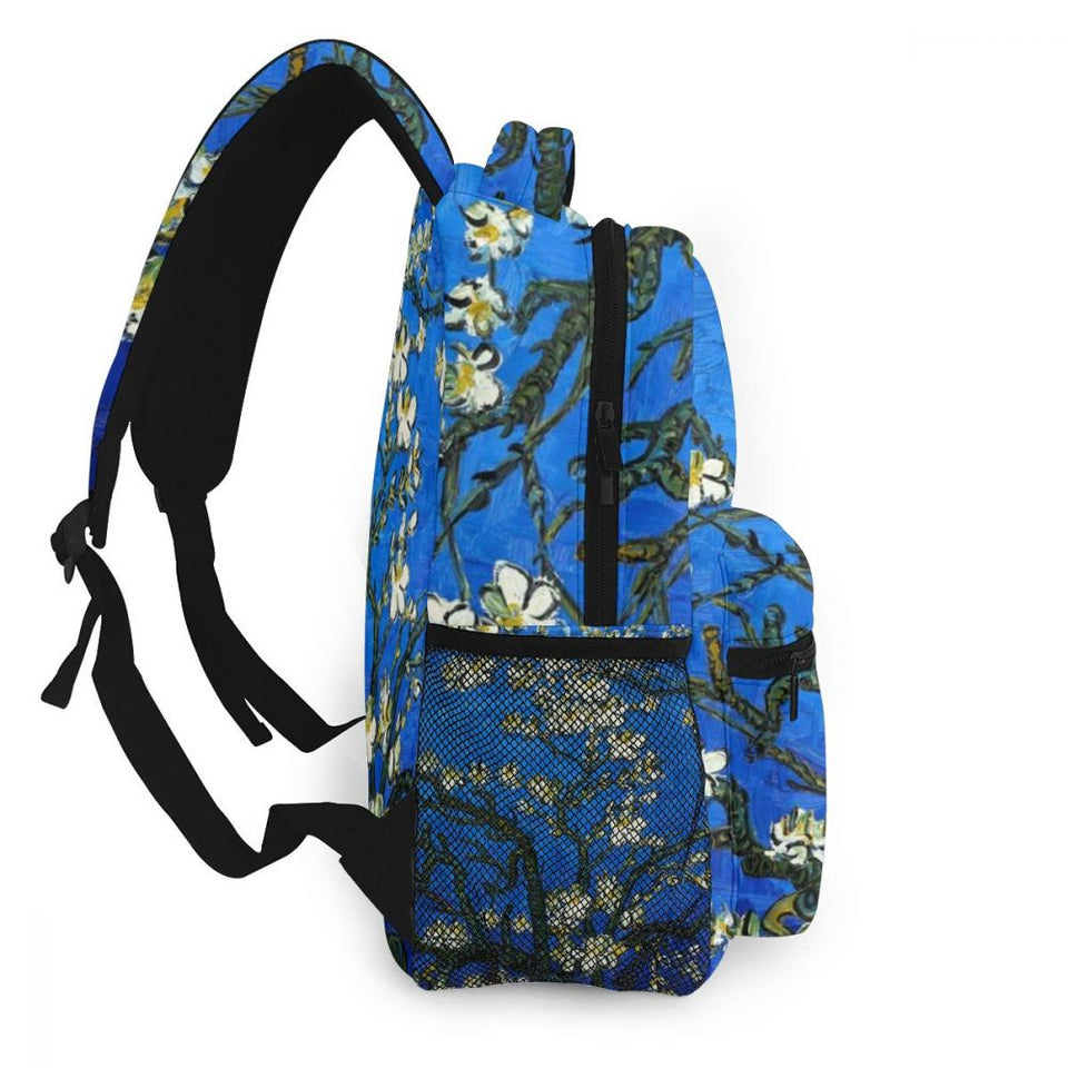 Almond Blossoms Van gogh backpack