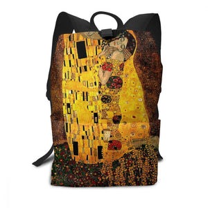 Gustav Klimt Backpacks