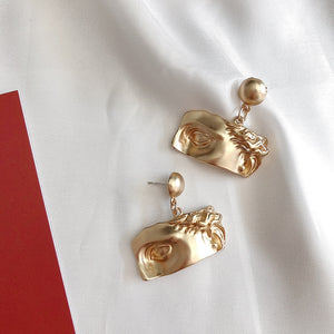 Michelangelo inspired earrings