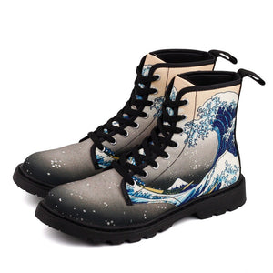 The great wave off kanagawa boots