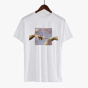 Michelangelo sky T-shirts