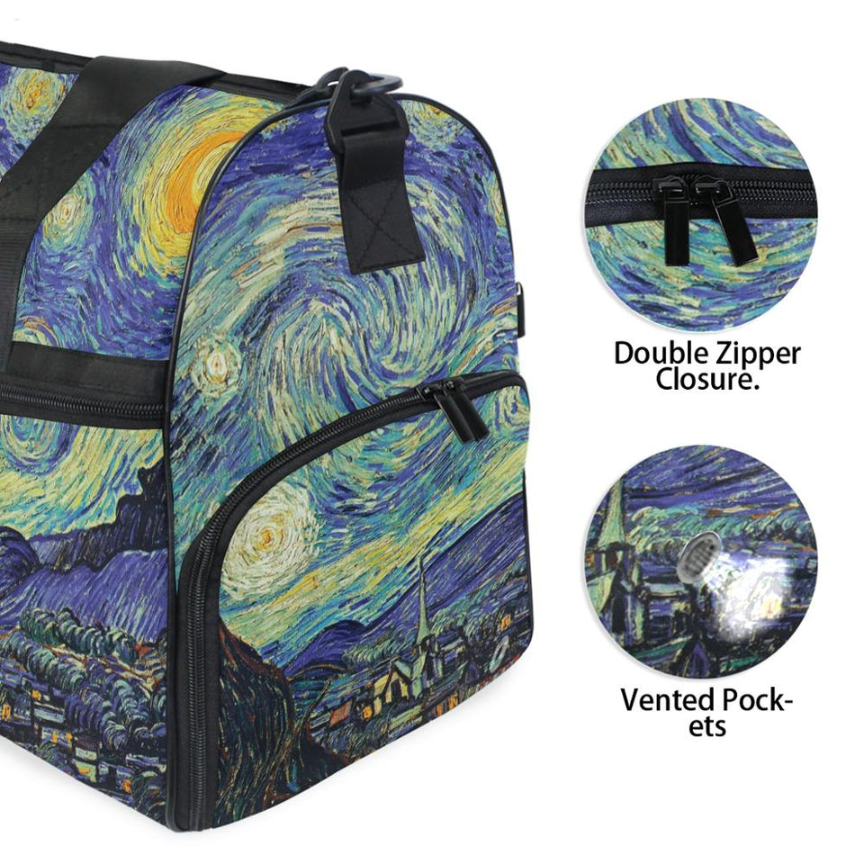 starry night Travel Bag