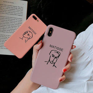 Matisse portrait iPhone Case