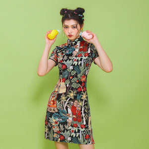 Frida Kahlo Summer Dress