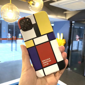 Piet Mondrian iPhone Case
