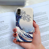 The great wave off kanagawa iPhone cases