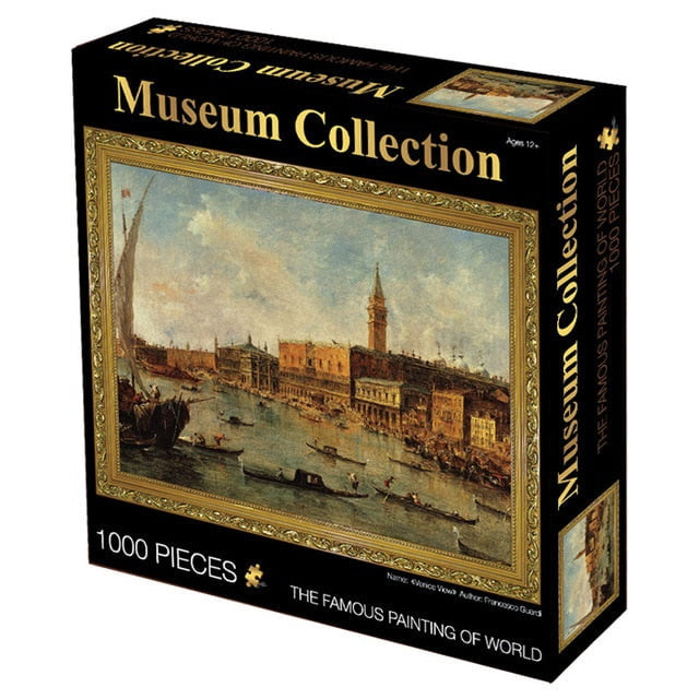 1000pcs Museum Collection Hard Puzzle