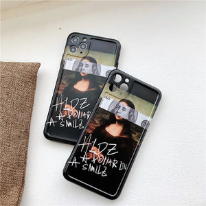 Monalisa collage iPhone case