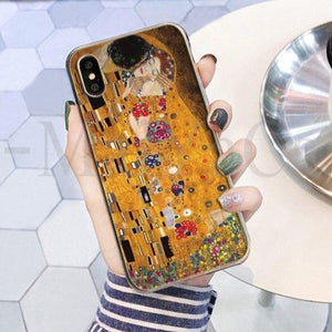 Gustav Klimt iphone cases