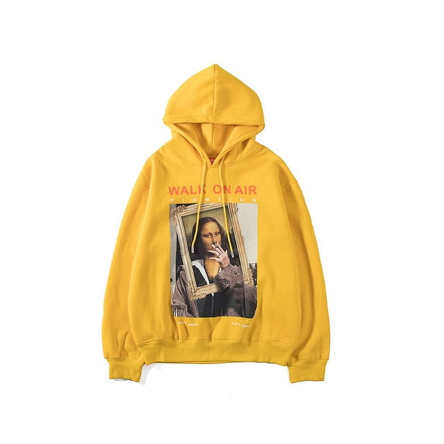 Walk on air , monalisa hoodie