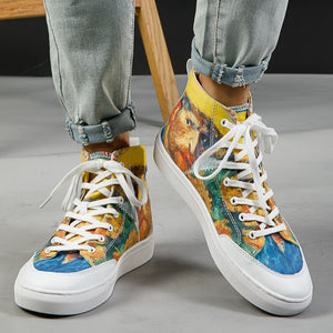 Van Gogh High-top shoes