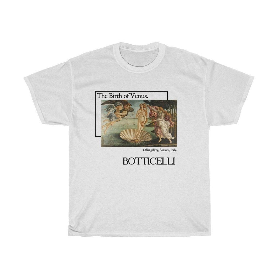 The Birth of Venus Botticelli T-shirt