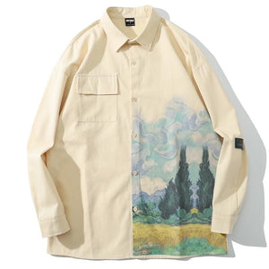 Van Gogh Cypress Shirt
