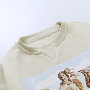 The birth of venus sweater