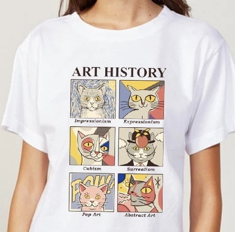 Art History x Cats T-shirt