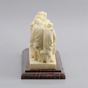 Leonardo Da Vinci The Last Supper Resin sculpture