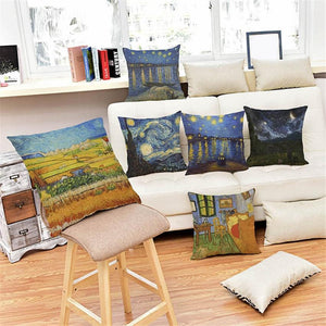 Van gogh Artworks Pillow Case
