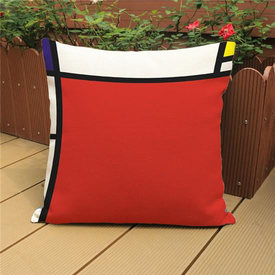 piet mondrian pillow cases